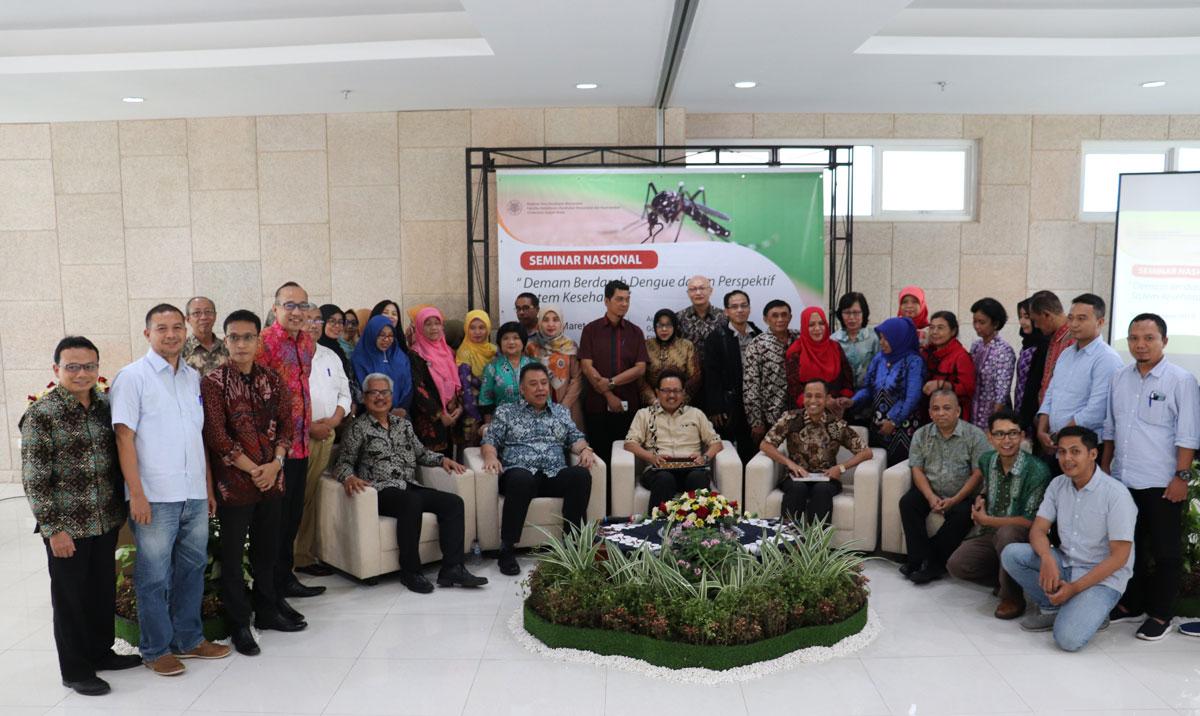 Seminar Nasional Demam Berdarah Dengue dalam Perspektif Sistem Kesehatan